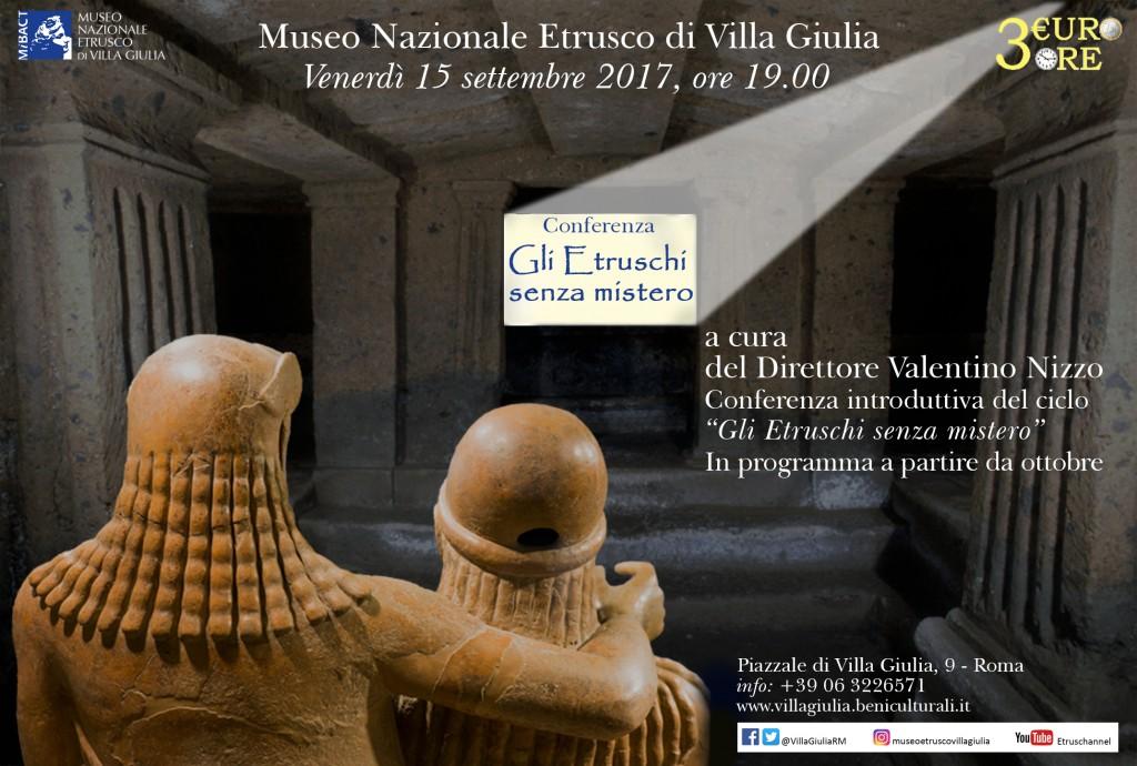 gli Etruschi senza mistero15 settembre