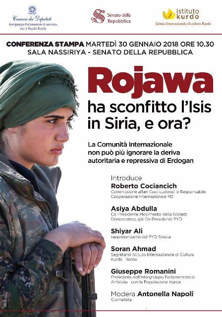 Rojava - ha sconfitto l'isis in Siria - e ora. Web