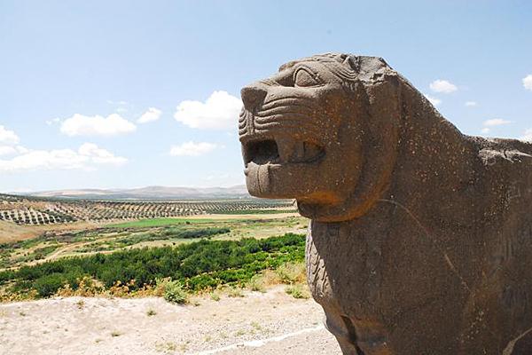 Afrin - Il Tempio di Ain Dara distrutto