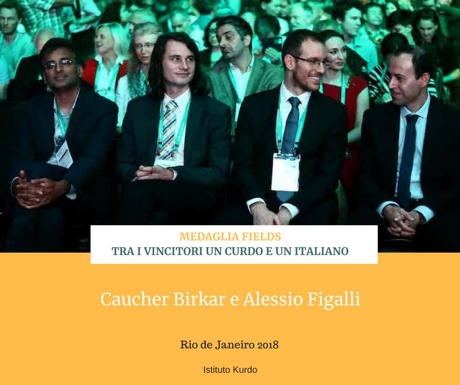 Medaglia Fields - tra i vincitori un curdo e un italiano 07