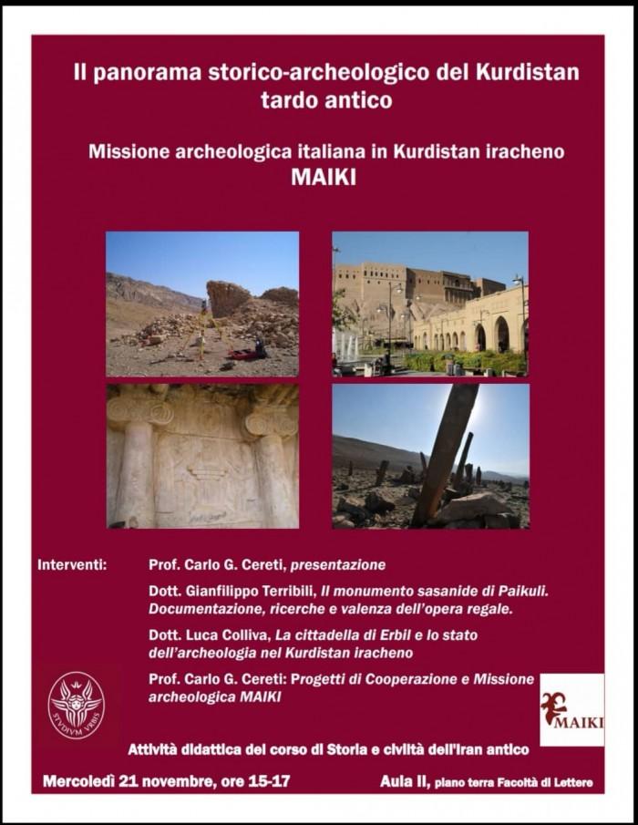 Il panorama storico archeologico del kurdistan