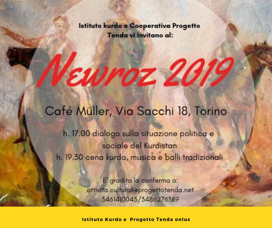Newroz 2019, Dialoghi e Musica a Torino, Istituto Kurdo