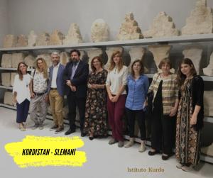 Archeologia Kurdistan - Missione Italiana - Galleria Paikuli Slemani