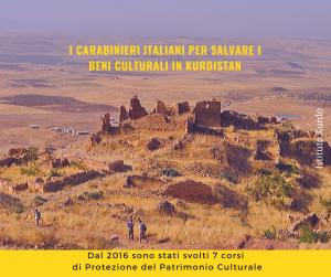 I Carabinieri Italiani per Salvare i Beni Culturali in Kurdistan