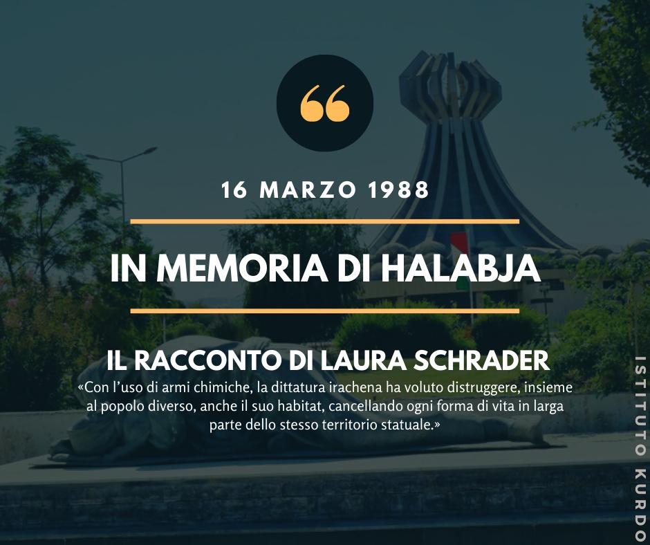 Monumento in memoria dell'attacco con armi chimiche. Halabja 1988