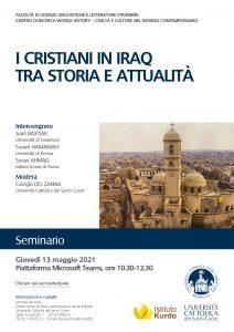 I Cristiani in Iraq tra storia e attualità_Istituto_Kurdo_UniCattolica