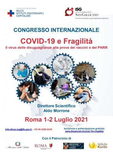Congresso Internazionale Covid-19 e fragilita